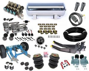 1982-1996 Ford F150 Plug and Play Air Suspension Kit – Street Scraper