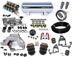 1997-2006 Ford F150 Plug and Play Air Suspension Kit – Street Scraper (10 Bolt Only)