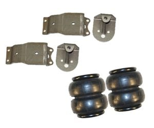 1984-1995 Toyota Pickup Front Air Suspension Kit, Bag and Bracket Kit (no fittings)