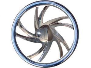 Full Custom Billet Steering Wheel – Spiral