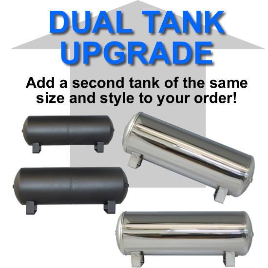 Dual Air Suspension Tank, Dual Tanks **UPGRADE**