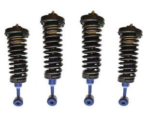 2002-2003 Ford Explorer, Mountaineer 4 Corner Strut Drop Kit – 2 Inches Front & Back