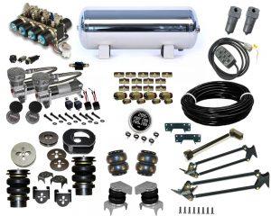 1999-2006 Chevrolet Silverado, Sierra, C1500, Plug and Play Air Suspension Kit